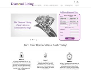 thediamondlining.com screenshot