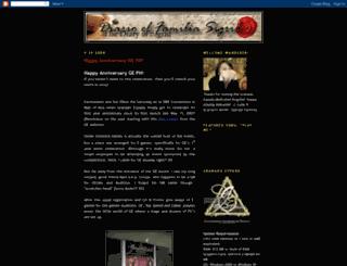 thediaryofsigrid.blogspot.com screenshot