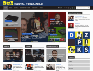 thedigitalmediazone.com screenshot