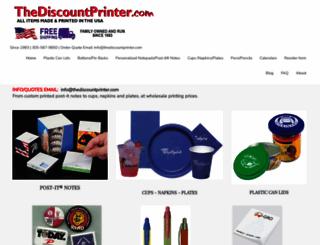 thediscountprinter.com screenshot