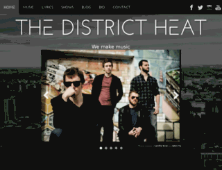 thedistrictheat.ca screenshot