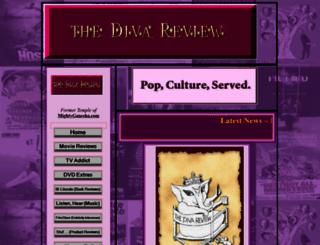 thedivareview.com screenshot