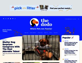 thedodo.com screenshot