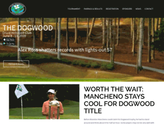thedogwood.com screenshot