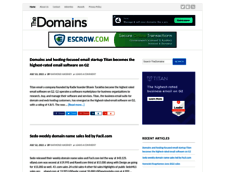 thedomains.com screenshot