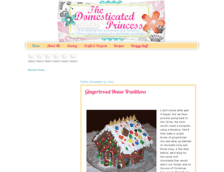 thedomesticatedprincess.blogspot.com screenshot