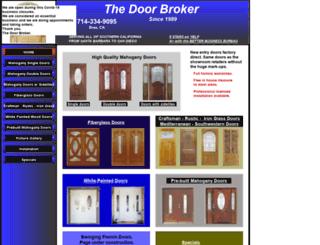 thedoorbroker.com screenshot