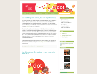 thedotconf.wordpress.com screenshot