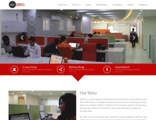 thedotzero.com screenshot