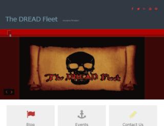 thedreadfleet.com screenshot