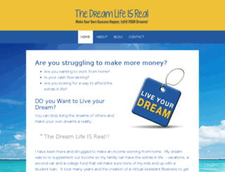 thedreamlifeisreal.com screenshot