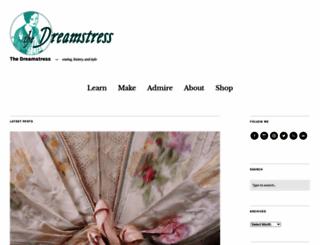 thedreamstress.com screenshot