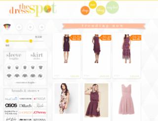 thedressspot.com screenshot