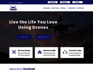 thedronecompany.com screenshot