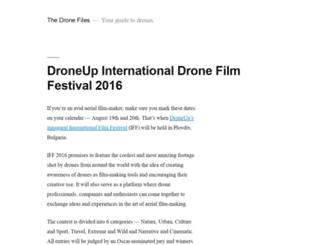 thedronefiles.net screenshot