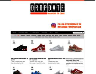 thedropdate.com screenshot