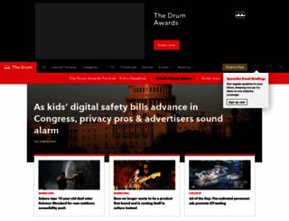 thedrum.com screenshot
