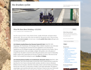 thedrunkencyclist.com screenshot