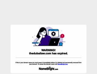 thedubailaw.com screenshot
