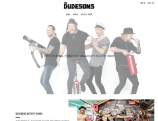 thedudesons.com screenshot