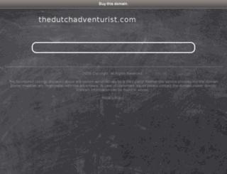thedutchadventurist.com screenshot