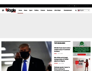 theeagleonline.com.ng screenshot