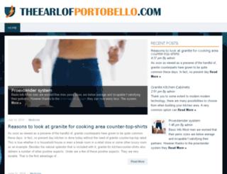 theearlofportobello.com screenshot