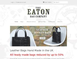 theeatonbagcompany.uk screenshot