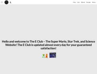 theeclub.info screenshot