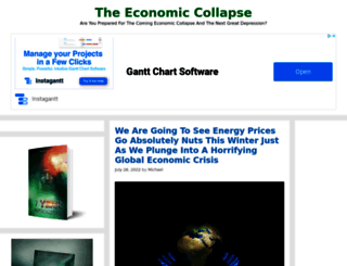 theeconomiccollapseblog.com screenshot
