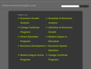 theeconomicinsight.com screenshot