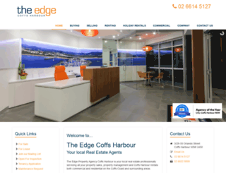 theedgecoffsharbour.com.au screenshot