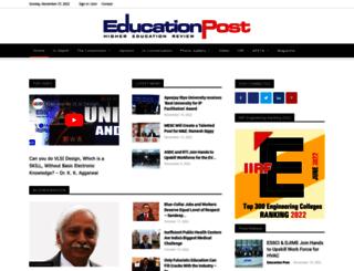 theeducationpost.in screenshot