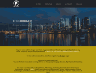 theekruger.com screenshot