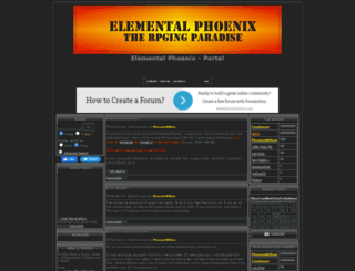 theelementalphoenix.forumotion.com screenshot