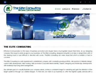 theeliteconsulting.com screenshot