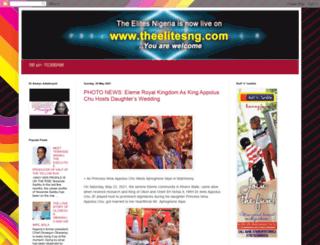 theelitesnigeria.blogspot.com screenshot