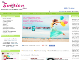 theemotionlink.com screenshot
