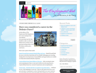 theemploymenthub.wordpress.com screenshot