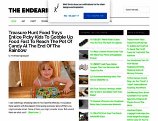 theendearingdesigner.com screenshot
