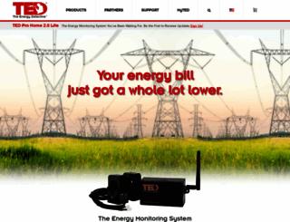 theenergydetective.com screenshot
