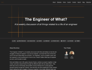 theengineerofwhat.com screenshot