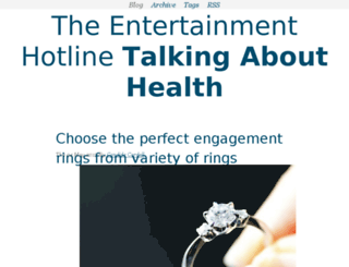theentertainmenthotline.net screenshot