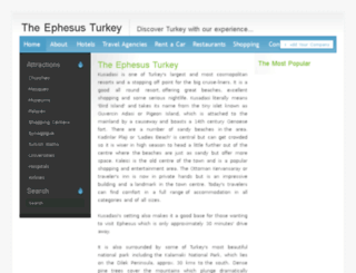 theephesusturkey.com screenshot