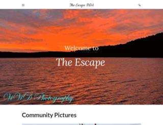theescapepoa.com screenshot