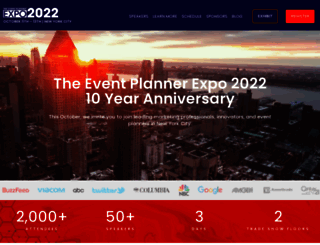 theeventplannerexpo.com screenshot