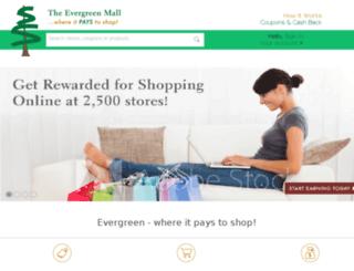 theevergreenmall.com screenshot