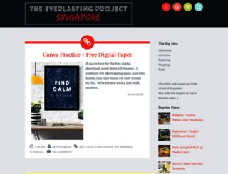 theeverlastingproject.blogspot.sg screenshot
