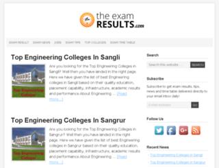theexamresults.com screenshot