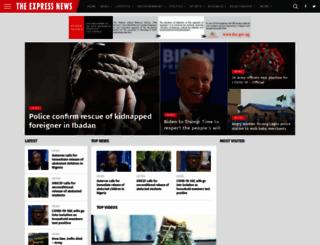 theexpressnews.com screenshot